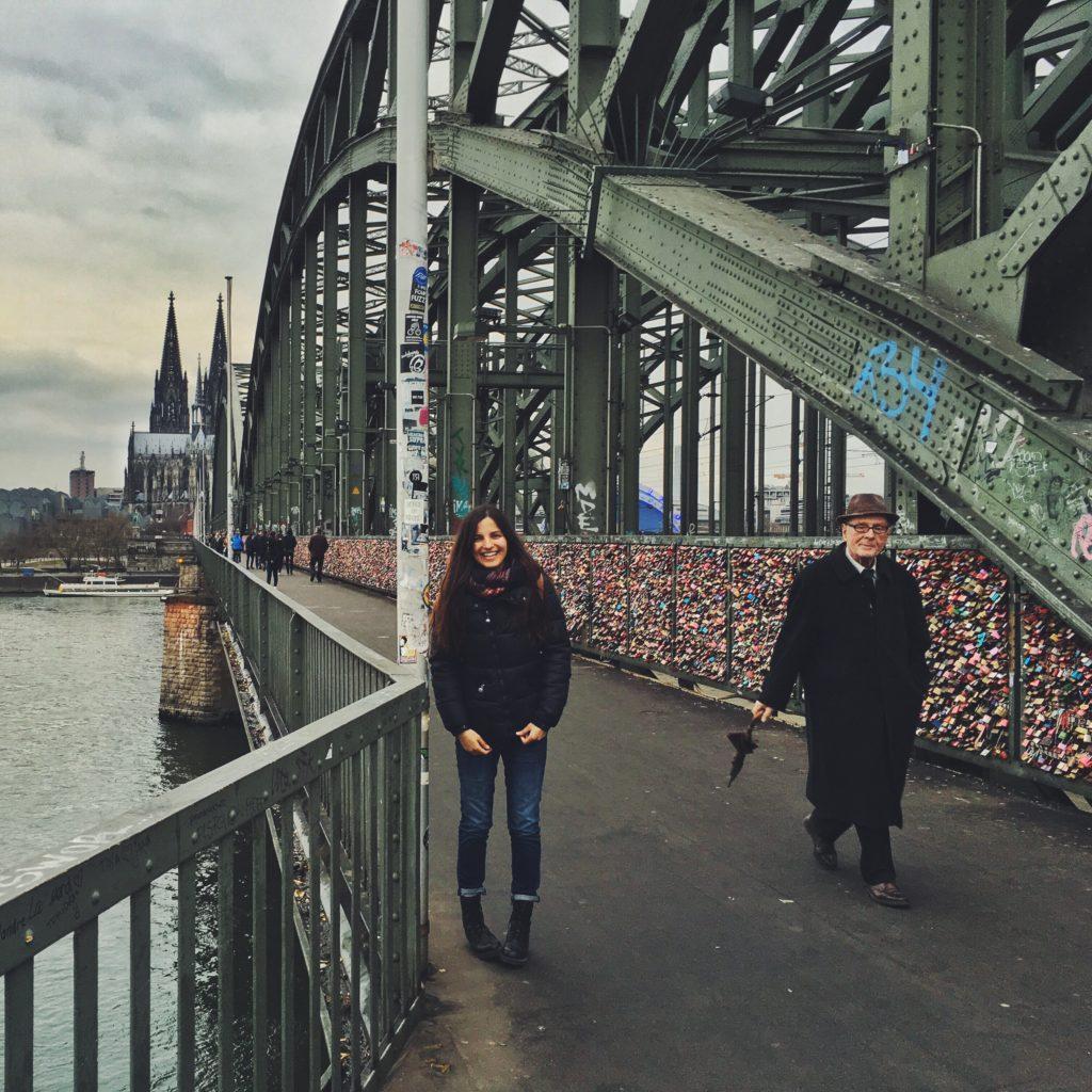 Hohenzollern Köprüsü ve Dom Katedrali
