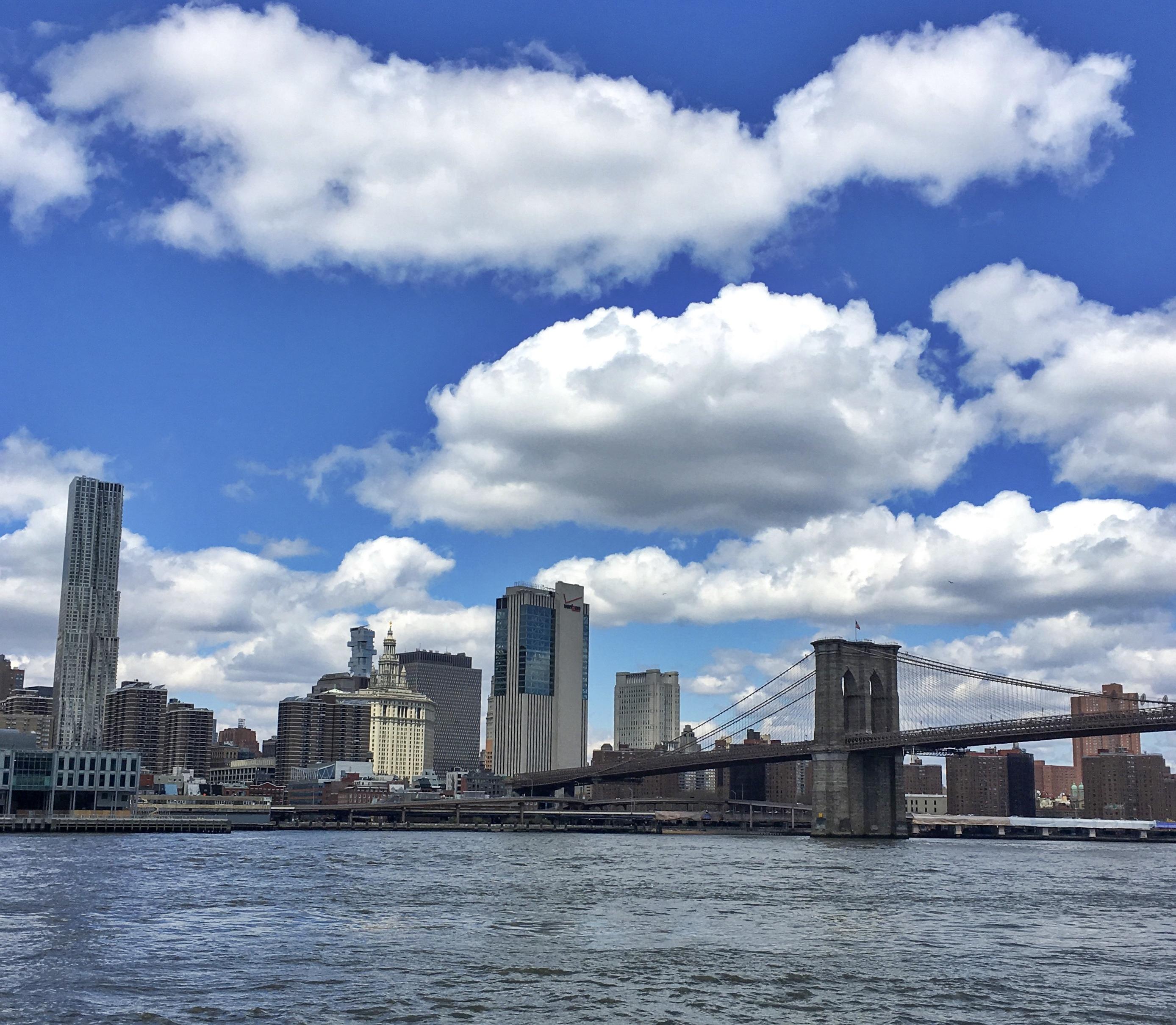 Manhattan ve Brooklyn Köprüsü