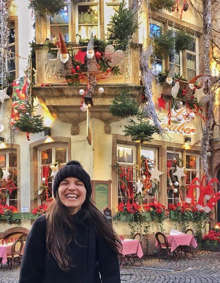Strasbourg'un süslü evleri