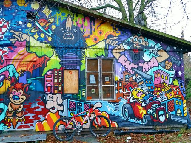 Christiania'nın Graffitili Evleri