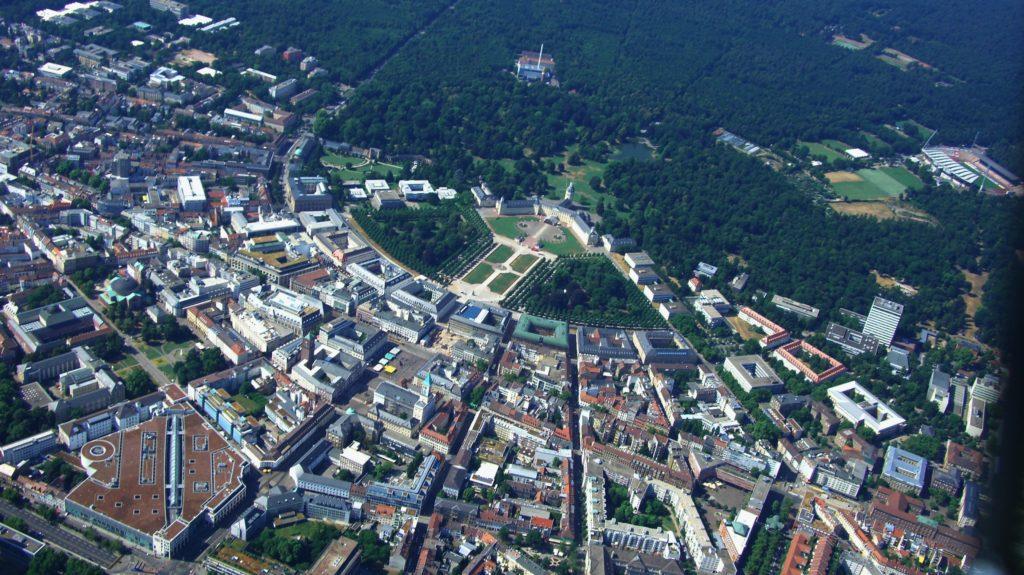 Yelpaze Şehir Karlsruhe