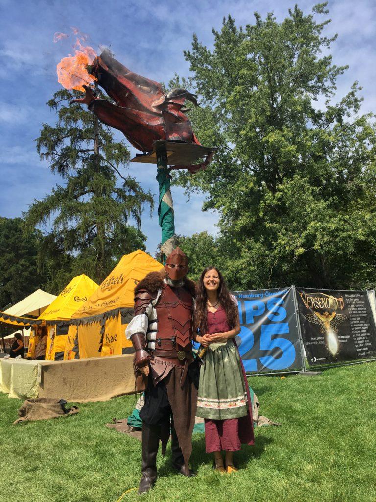 Bir Orta Çağ Şövalyesi ile Birlikte