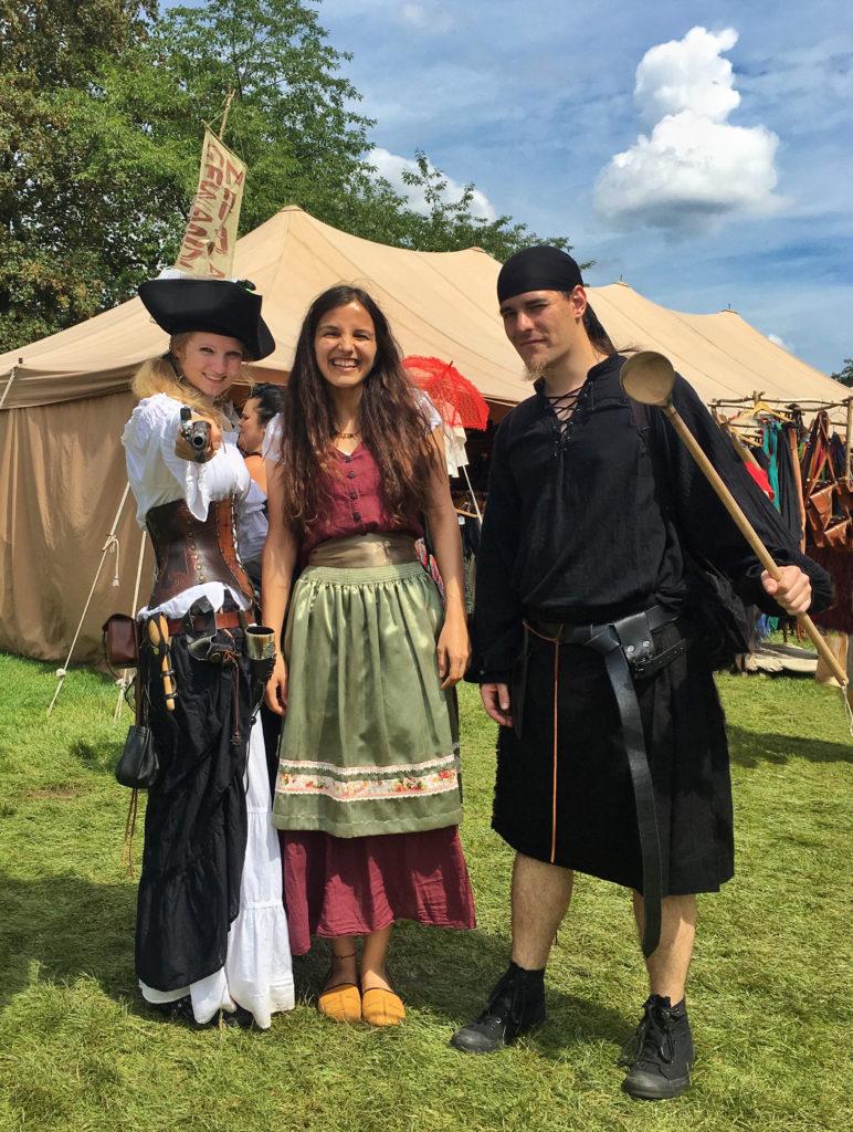 Orta Çağ Festivali Kostümleri - Korsanlar