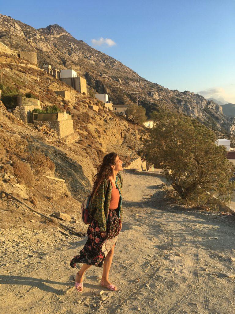 Olympos Karpathos Gün Batımı