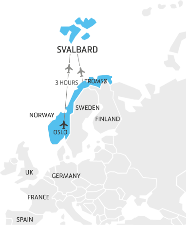 Svalbard Ulaşım