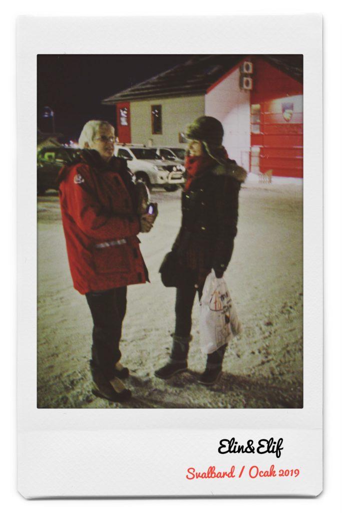 Ben ve Elin, Longyearbyen