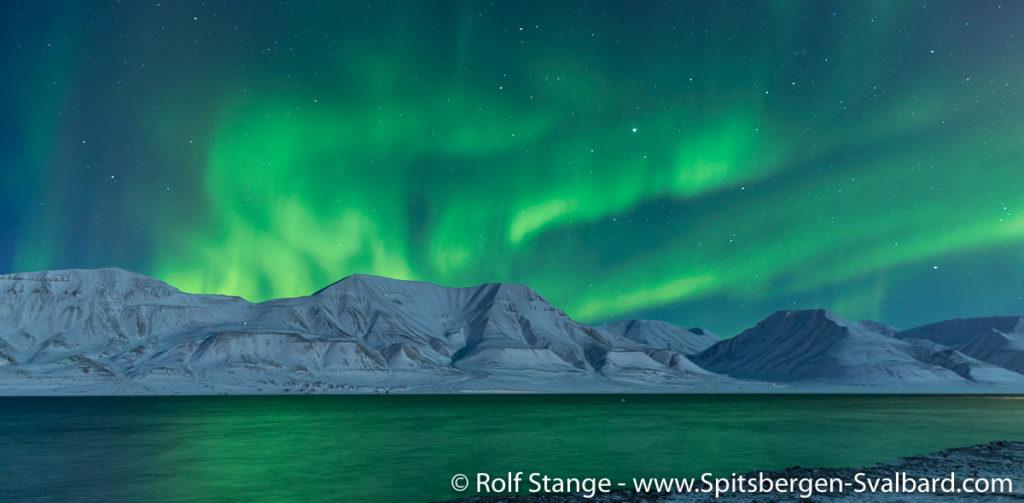 Kuzey Işıkları, Svalbard