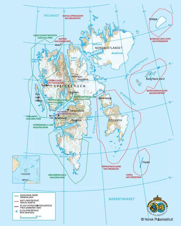Svalbard Adaları