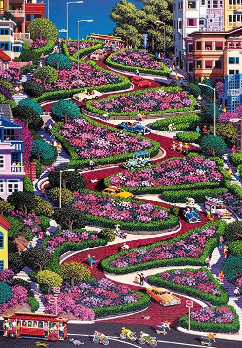 Lombard Street,San Fransisco