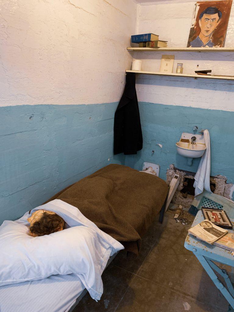 Alcatraz hapishanesinden kaçanlardan birinin koğuşu