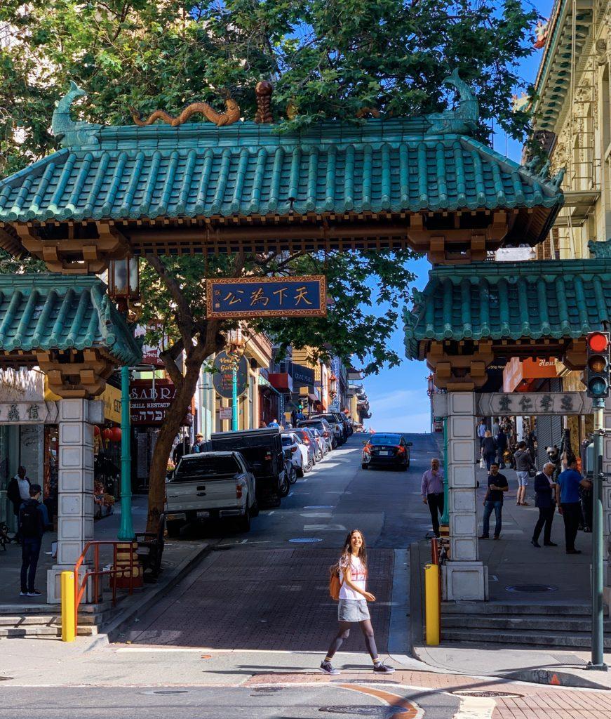 Chinatown giriş kapısı