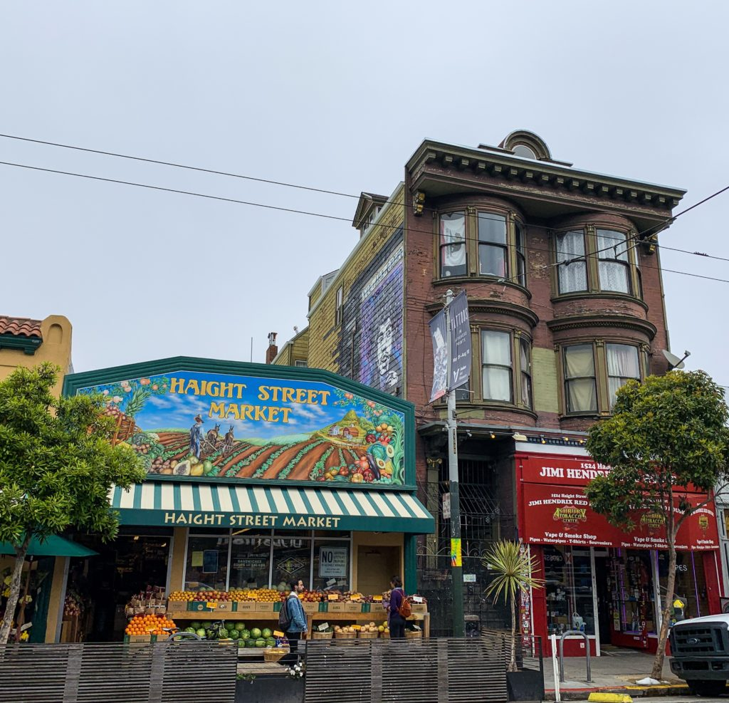 Jimi Hendrix'in evi, San Francisco