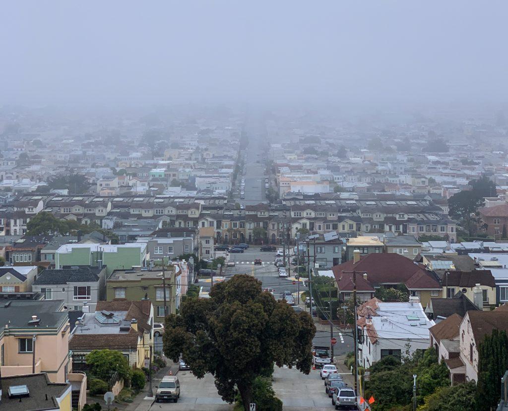 Sisler içinde San Francisco
