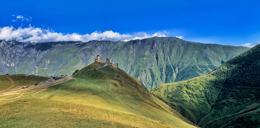 Kazbegi, Gergeti (Holy) Trinity Church