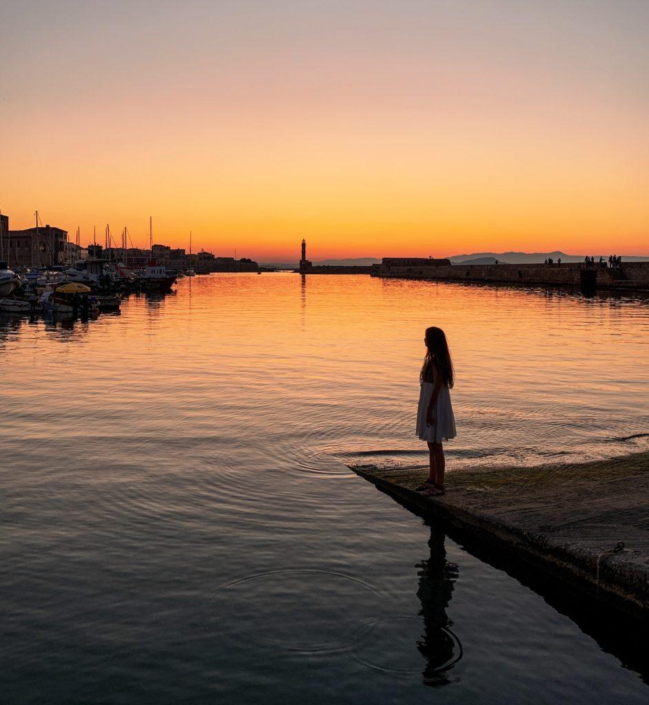 Liman ve Deniz Feneri - Hanya, Girit
