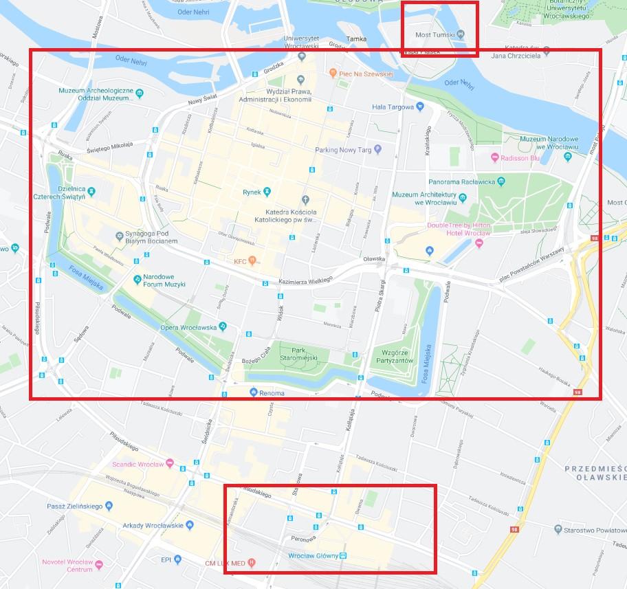 Wroclaw Haritası
