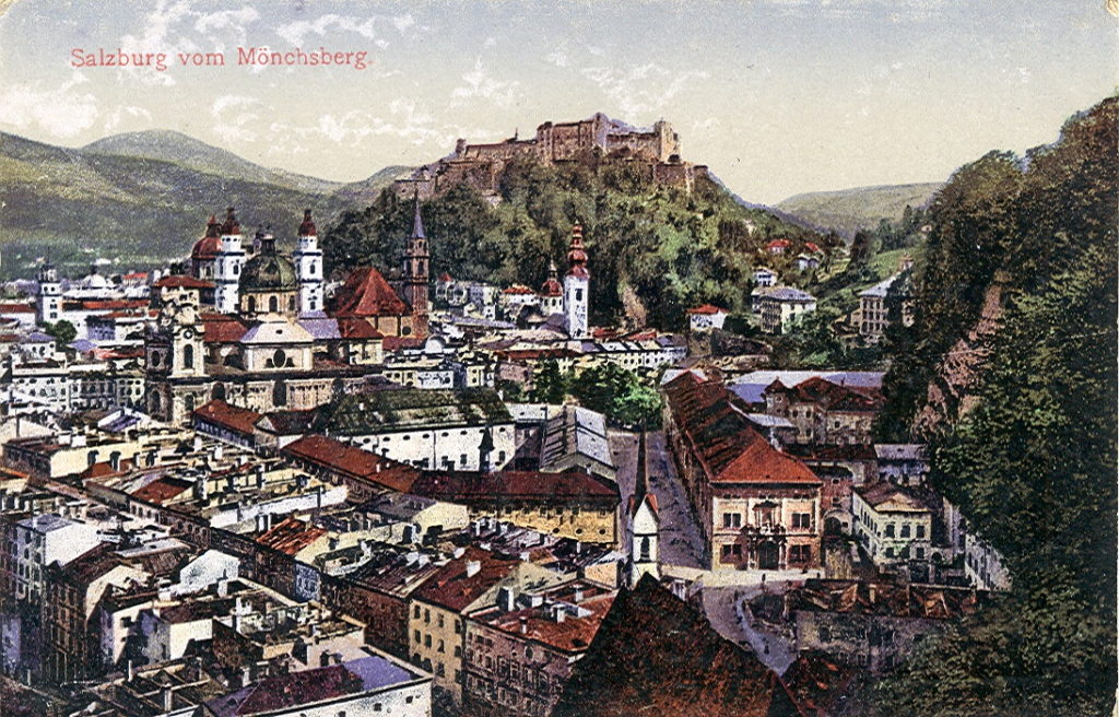 Hohensalzburg Kalesi ve Salzburg